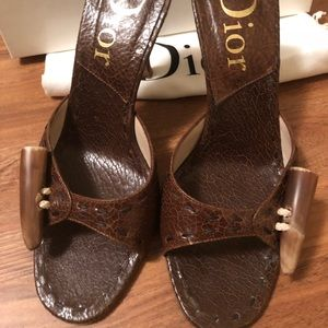 Dior slip on pumps